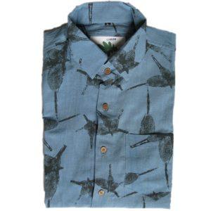 organic micro fossil shirt
